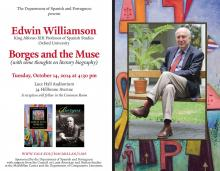 """Borges and the Muse"" by Edwin Williamson"