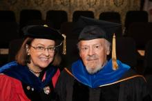 Professors Rolena Adorno and Manuel Durán