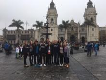 La Plaza Mayor in Lima, Perú