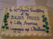 Cake of The 45th Annual Presentation of the Bildner Prizes